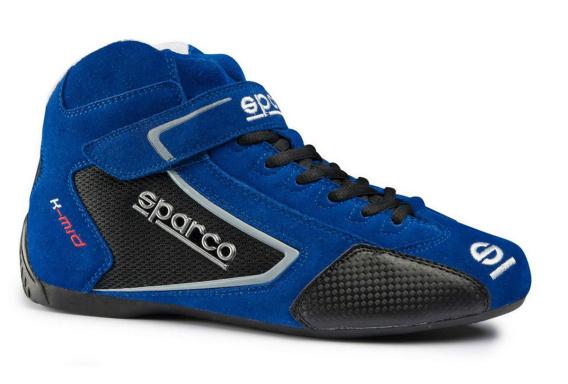 d560be76 Bajpol Motosport > Buty rajdowe Sparco K-Mid zamsz blue